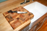End Grain Butcher Block 10